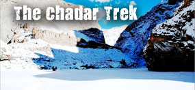 chadar trek frozen river